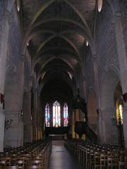 Eglise - Deutsch: Morteau Kirche Innenansicht