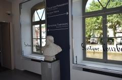 Maison natale de Gustave Courbet - Français:   Vue du Musée Courbet à Ornans (département du Doubs, en France).