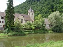 Eglise - Deutsch: Kirche in Saint-Hippolyt, in welcher das Turiner Grabtuch aufbewahrt wurde