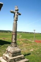 Croix de la Combille - Français:   Croix de la Combille. Face Est.