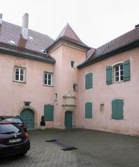 Hôtel de Franquemont - Deutsch: Montbéliard, 3, rue Saint-Martin