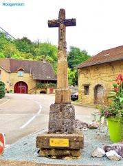 Croix du bas de la Grande Côte, appelée croix du carrefour de la gendarmerie - Français:   Croix du carrefour de la gendarmerie