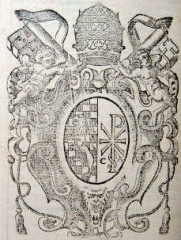Château - English: Pope Callistus II., his coat of arms