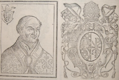 Château - English: Pope Callistus II. and his coat of arms