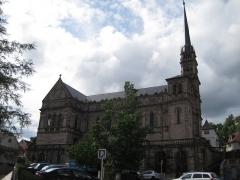 Eglise catholique Saint-Maimboeuf - Français:   Église Saint-Maimbœuf de Montbéliard