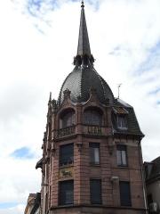 Immeuble dit Le Lion de Peugeot -  Immeuble du Lion Peugeot à Montbéliard par l'architecte Jean Walter.