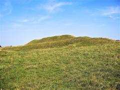 Site du Fort Bachin (également sur commune de La Rivère-Drugeon) - Français:   Tertre artificiel nommé fort Bachin, vu du côté sud-ouest. Bouverans. Doubs