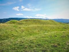 Site du Fort Bachin (également sur commune de La Rivère-Drugeon) - Français:   Fort Bachin, vu du côté nord-ouest. Bouverans. Doubs