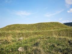 Site du Fort Bachin (également sur commune de La Rivère-Drugeon) - Français:   Fort Bachin, vu du côté ouest. Bouverans. Doubs