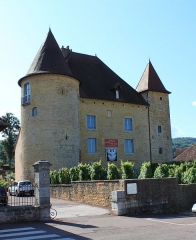 Château Pécaud et Tour Velfaux - English: Arbois, Jura, France