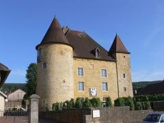 Château Pécaud et Tour Velfaux - Français:   Château Pécauld, Arbois (Jura, Franche-Comté, France)