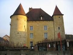 Château Pécaud et Tour Velfaux -  Chateau Pecaud - Musée de la viticulture - Arbois - Jura - France