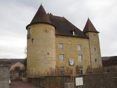 Château Pécaud et Tour Velfaux - Français:   Château Pécauld