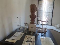 Château Pécaud et Tour Velfaux - Français:   Buste de Louis Pasteur, au musée de la vigne et du vin du Jura d\'Arbois