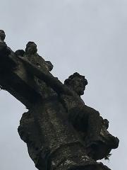 Croix de chemin en pierre datée de 1539 - French Wikimedian, software engineer, science writer, sportswriter, correspondent and radio personality