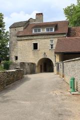 Abbaye - English: Château-Chalon, Jura, France