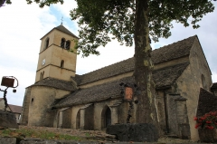 Eglise Saint-Pierre - English: Château-Chalon, Jura, France