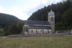 Eglise -  Eglise de Chaux-des-Crotenay.