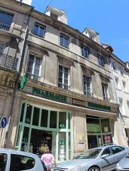 Maison - Français:   Maison, 44 rue de Besançon, Dole.