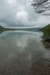 Villages palafittes du lac Chalain (également sur communes de Marigny et Doucier) -  Lac de Chalain