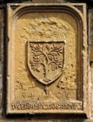 Abbaye -  Armoiries du pape Jules II