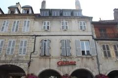 Maison - Français:   Maison, 41 rue du Commerce, Lons-le-Saunier.