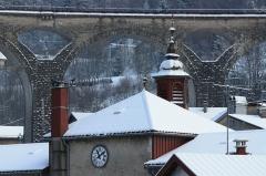 Viaduc -  Horlogerie et viaduc, Morez  Ancien hôpital