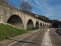 Viaduc -  Viaduc de la Source à Morez.