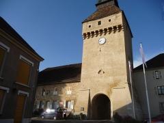 Porte de Ville dite Porte de l'Horloge - Français:   porte de l\'horloge
