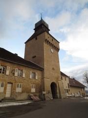 Porte de Ville dite Porte de l'Horloge - Français:   Porte de Nozeroy