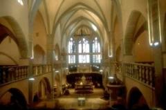 Eglise Notre-Dame de l'Assomption -  Intérieur de l'église Notre-Dame d'Orgelet