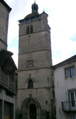 Eglise Notre-Dame de l'Assomption -  Orgelet (Jura - France - le clocher
