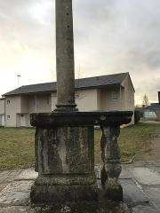 Croix de carrefour en pierre datée de 1613 - French Wikimedian, software engineer, science writer, sportswriter, correspondent and radio personality