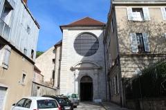 Ancien couvent des Jacobins - Français:   Ancien couvent des Jacobins, Poligny, Jura.