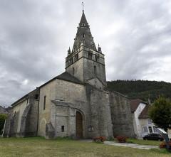 Eglise Notre-Dame de Mouthier-le-Vieillard - Nederlands: Onze-Lieve-Vrouw van Mouthier-le Vieillard, Poligny, Frankrijk