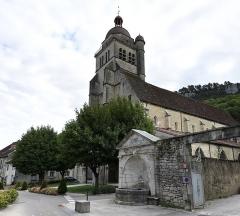 Eglise Saint-Hippolyte - Nederlands: Collegiale Sint-Hippolytus, Poligny (Jura)