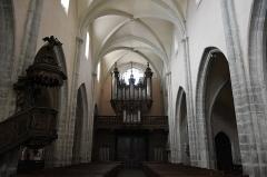 Eglise Saint-Hippolyte - Nederlands: Collegiale Sint-Hippolytus, Poligny - orgel Cavaillé-Coll