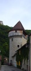 Tour de la Sergenterie - English: Tower of the 'Sergenterie', Poligny, France