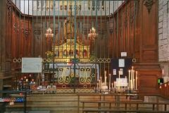 Cathédrale Saint-Pierre - Deutsch: Kathedrale Saint-Pierre de Saint-Claude. Saint-Claude (Jura) ist eine Stadt im Departement Jura in Frankreich.