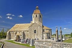 Eglise - Deutsch: St.-Hymetière, von Süden