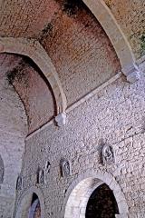 Eglise - Deutsch: Saint-Hymetière, Gewölbe des Mittelschiffs