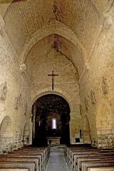 Eglise - Deutsch: Saint-Hymetière, Mittelschiff