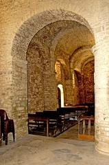 Eglise - Deutsch: Saint-Hymetière, südliches Seitenschiff, aus dem Querhaus