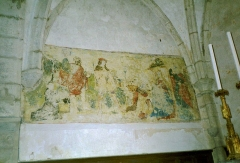 Eglise Saint-Laurent -  Une des Fresque de l\'Eglise de St-Laurent-La-Roche, Franche-Comté, France