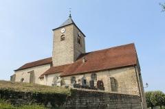 Eglise Saint-Laurent - Français:   Église Saint-Laurent de Saint-Laurent-la-Roche, La Chailleuse.