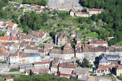 Eglise Notre-Dame - English: Salins-les-Bains, Jura, France