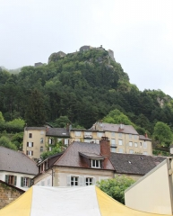 Fort Belin - English: Salins-les-Bains, Jura, France
