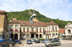 Hôtel de ville - English: Salins-les-Bains, Jura, France
