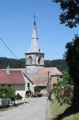 Eglise - Français:   Église de Sirod (Jura).