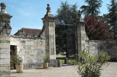 Abbaye cistercienne d'Acey - Deutsch: Trappistenkloster Acey in der Gemeinde Vitreux im Département Jura (Bourgogne-Franche-Comté/Frankreich)